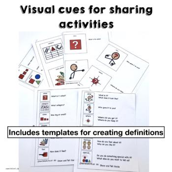 Describe Compare Contrast Define Tell Bundle for Expressive Language