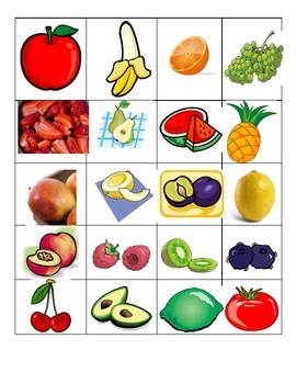 Describe Fruits Qui Suis Je Student Game