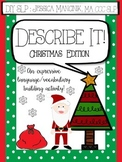 Describe It! Christmas Edition