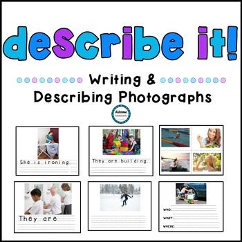 Describe It!- Expressive and Receptive Task (SPED/AUTISM/ELEMENTARY)