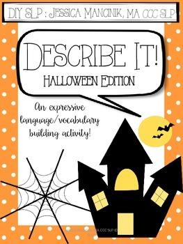 Describe It! Halloween Edition