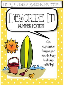 Describe It! Summer Edition