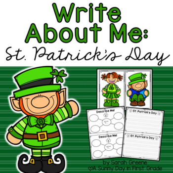 Write About Me: St. Patrick's Day!