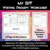 Describe My Friend / My BFF Worksheets