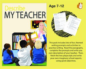 Describe My Teacher (7-11 years)