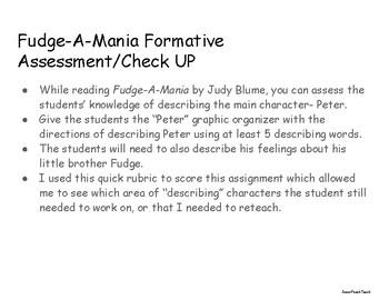 Describe Peter from Fudge-A-Mania