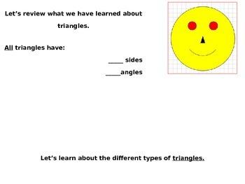 Describe Triangles