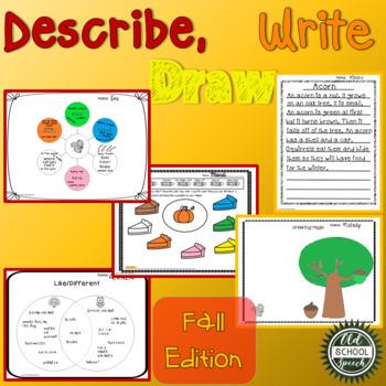 Describe Write Draw Fall Version