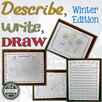 Describe Write Draw Winter Version