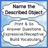 Name a Described Object - Expressive Communication to Answ