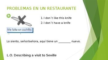Describe a visit to Seville