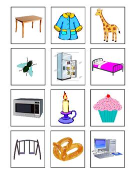 Describe it! ~with noun cards