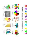 Describing Language Activity ~with noun cards