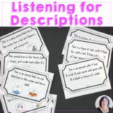 Understanding Describing Words Listening to Descriptions for Language Processing