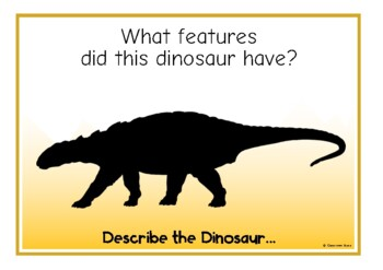 Describe the Dinosaur