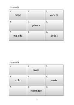Describing animals in Spanish (speaking activity)