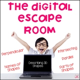 Describing 3D Shapes Digital Escape Room for Distance Learning