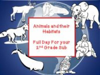 Animals and Their Habitats - Common Core Aligned Full Day