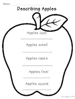Describing Apples