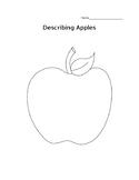 Describing Apples Worksheet