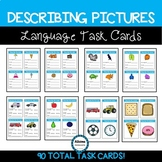 Describing Basic Pictures Language Task Cards (sped/autism