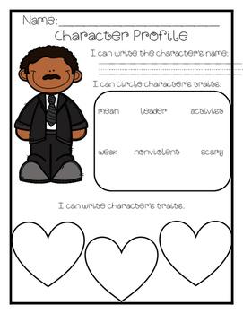 Describing Black History Characters
