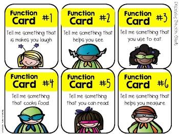 Describing Cards to the Rescue!