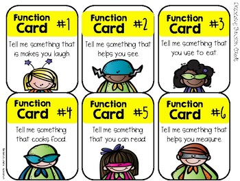 Describing Cards to the Rescue!