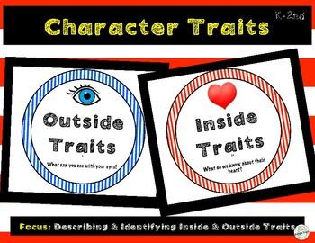 Character Traits: Describing Characters- Inside/Outside (P