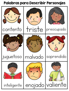Describing Characters: English and Spanish