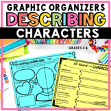 Character Traits Graphic Organizers for Analyzing Characters