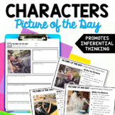 Character Traits - Picture of the Day Reading Routine