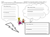 Describing Characters: Thoughts, Actions & Talk!