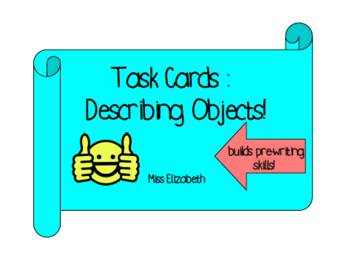 Describing Common Objects Task Cards