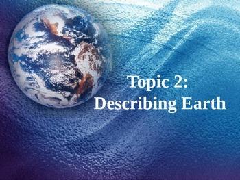 Describing Earth Unit