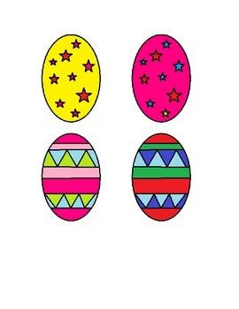 Describing Easter Eggs Language Game