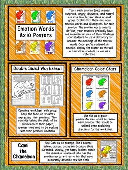 Describing Emotions (Teaching Children Emotions) (Session #1)