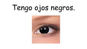 Describing Eye Color in Spanish (Poster)