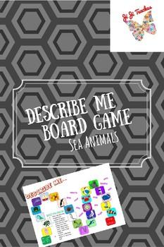 Describing Game Board- Sea Animals
