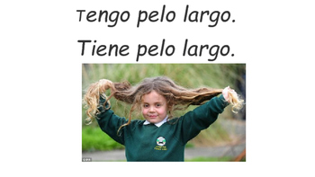 Describing Hair Length and Color in Spanish