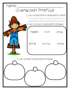 Describing Halloween Characters {First Grade - Fifth Grade}