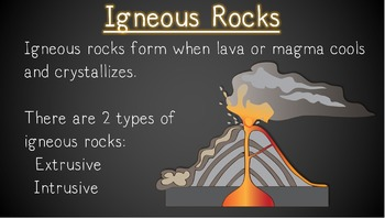 Describing Igneous Rocks PowerPoint