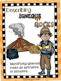 Describing Igneous Rocks