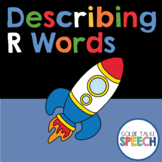 Describing Initial R Words | Boom Cards | ELA | Speech & Language Therapy