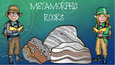 Describing Metamorphic Rocks PowerPoint