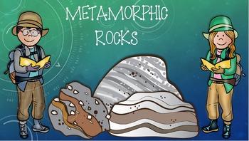Describing Metamorphic Rocks PowerPoint
