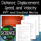 PowerPoint Introduction To Distance, Displacement, Speed and Velocity
