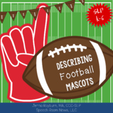 Describing NFL Mascots (Speech Therapy for the Super Bowl & More)