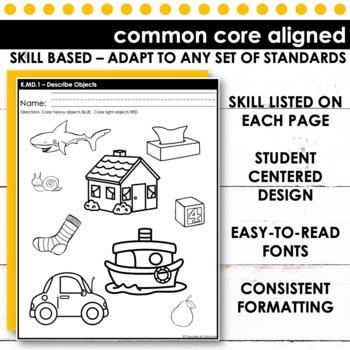 Describing Objects | Kindergarten Math
