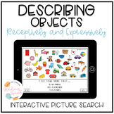 Describing Objects Picture Search No Print Distance Learning
